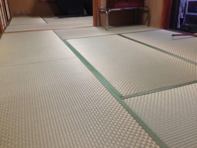 市松模様の畳表、もちろん安心の熊本産