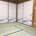 幸手市東、モダン和風な畳と襖に張替え、おしゃれな和室になりました!