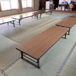 久喜市、公民館の畳替えを国産畳表でさせていただきました